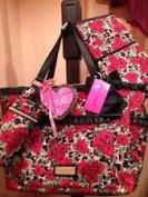 Betsey Johnson Misty Roses Ruffles Nappy Bag Set