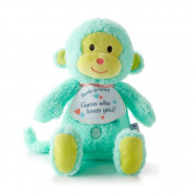 Hallmark Baby Recordable Monkey Plush Stuffed Animal