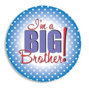 ANNOUNCEMENT BUTTON - BIG BROTHER