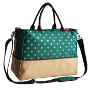 LANDUO Women's Baby Nappy Nappy Bag Tote Large Size Green