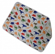 Duckery Kid PVC FREE Waterproof Baby Nappy Changing Pad in Vibrant Colour for Home and Travel