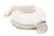 Zenoff Products Nursing Pillow Slipcover Deluxe Heather, Light Grey