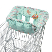 Comfort & Harmony Playtime Cosy Cart Cover Foxtrot Leaves