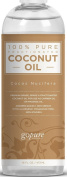 BEST Fractionated Coconut Oil by goPure - the Best Carrier Oil, Massage Oil - Blend with Essential Oils - Add to Roll-On Bottles for Easy Application - 100% Pure & Natural Coconut Oil - Premium Therapeutic Grade - 100% Satisfaction Guaranteed