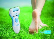 Pedi.Cure Solutions - Best Electric Callus Remover and Foot Scrubber, Professional Micro Pedicure Exfoliating File Tool, Battery Operated Repair & Smooth Cracked, Dead Skin, Dry, Rough Feet, Pumice Roller, Satisfaction Guaranteed