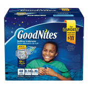 GoodNites Youth Pants for Boys, L\XL, 27 Count