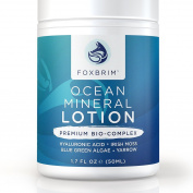 Ocean Mineral Lotion + Seaweed Complex - BEST Natural Face Lotion - Facial Moisturiser - Crafted for All Skin Types - Powerful Ocean Nutrients - Perfect Moisture for Smooth & Radiant Skin - Backed by Amazing Guarantee