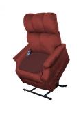 Essential Medical Supply Quik Sorb Furniture Protector Pad, Maroon
