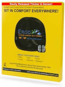 Ergo21 Liquicell Original Seat Cushion. Gel, Foam, and Air! Liquid-Filled Membranes. Blood Flow Improved by 150%