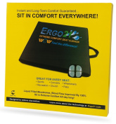 Ergo21 Liquicell Sports Cushion - Better Than Gel, Foam, and Air! Liquid-Filled Membranes. Blood Flow Improved by 150%