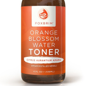 Orange Blossom Water Toner - 100% All-Natural Face Toner - Beautiful Floral Water - To Tone & Refresh Skin - Balance pH and Skin Moisture - Alcohol Free - Imported from Morocco - Renowned Neroli Distillate/Hydrosol - Perfect For A Complete Beauty Regim ..