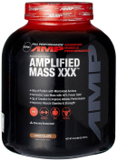 GNC Pro Performance AMP Amplified Mass XXX Weight Gainer, Chocolate, 2.7kg