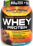 Body Fortress Super Advanced Whey Protein Powder, Cookies N' Creme, 0.9kg