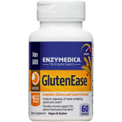 Enzymedica - GlutenEase, Complete Gluten & Casein Formula with Digestive Enzymes, 60 Capsules