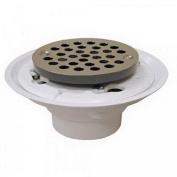 Jones Stephens D50001 5.1cm X 7.6cm PVC Shower/Floor Drain Stainless Strainer