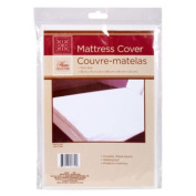 Twin Size Waterproof Mattress Cover - Hypoallergenic Fitted Protector for Potty Training, Bed Wetters, Allergies, Dust Mites, Bed Bugs, and More