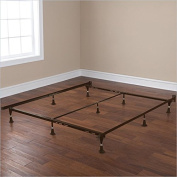 Adjustable Metal Support Bed Frame – Queen to King Size