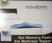 Novaform Gel Memory Foam 7.6cm Mattress Topper - King Size