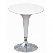 Fine Mod Imports Razzle Bar Table, White