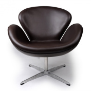 Kardiel Trumpeter Chair, Choco Brown Aniline Leather
