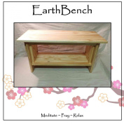 Meditation Bench ~ 36cm tall Personal Altar Table by EarthBench