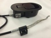 Metal Recliner Handle and Release Cable Replacement