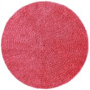 Shagadelic Chenille Twist Round Rug, 1.5m by 1.5m, Pink