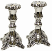 Majestic Giftware CS8009 Candle Sticks, 13cm , Silver Plated