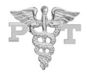 NursingPin - Physical Therapist PT Graduation Lapel Pin in Sterling Silver