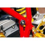 Sato Racing Complete Black Frame Plug Set for Ducati 1098 1198 848 Streetfight