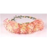 Boho flower head garland flower garland floral headdress festiva wedding