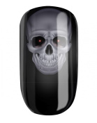 NAIL WRAPS by GLAMSTRIPES - MYSTIC SKULL
