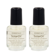 Lot 2 CND Essentials Solar Oil .3700ml Nail Cuticle Condition Polish Treatment