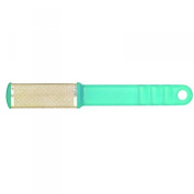 Lotus Essentials Double Sided Metal Foot File - Blue/Green