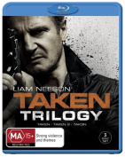 Taken Trilogy  [Region B] [Blu-ray]