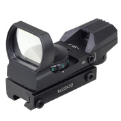 Very100Holographic Red Green Dot Projected Reflex 4 Reticle Sight Scope w/ Mount