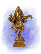Figure: Ganesh dancing on base (H x W
