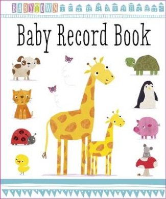 Baby Record Book (Baby Town)