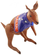New Assorted Colour Inflatable Children Blow Up Toys Hen Stag Party Fancy Dress (Inflatable Kangaroo With Australian Flag