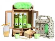 BRUBAKER COSMETICS Bath and Body Beauty Gift Set Aloe Vera Vanilla 15 Pieces