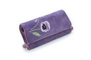 Seek Unique - Lilac Blossom Design - Jewellery Travel Roll Case