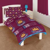 West Ham Utd Double Duvet Cover Bedding Set