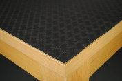 180cm x 90cm Heat Resistant Black Table Protector by Karina Home