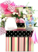Pampering Spa Gourmet for Her -Women's Birthday, Holiday, or Mother's Day Gift Basket Idea