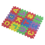 36x Baby Child Kids Novelty Alphabet Number EVA Puzzle Foam Teaching Tools Toy