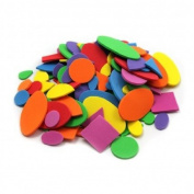 Foam Shapes Asst Colours 264 Pcs