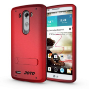LG G4 Case, [ Kickstand Case ] - JOTO Hybrid Tri Layer Armour Cover Case with Kickstand for LG G4 2015, [Flexible TPU + double Hard PC], LG G4 Stand Case