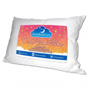 Toddler Pillow - Premium Soft Microfiber Filling Provides Comfort and Support - Best Pillow for Kids or Travel - 100% Cotton Covering, Hypoallergenic, Machine Washable, & Made in USA (13x18) - Backed by Our Comfort Guarantee