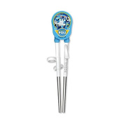 Robocar Poli Children Stainless Steel Training Chopsticks Step one For Right Hand