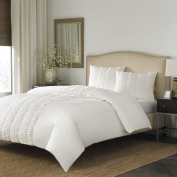 Stone Cottage Corinna Duvet Cover Set, Full/Queen, Frost